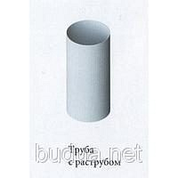 Труба водосточная Ø95, дл. 4м, белая