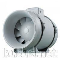 Установка врезного канального вентилятора