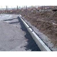 Укладка дорожного бордюра 3 м