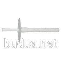 Дюбель для теплоизоляции с пластиковым стержнем, 10х200 шт.