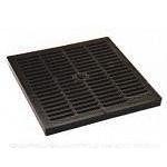 Крышка к дождеприемнику PolyMax Basic 28.28 пластиковая черная