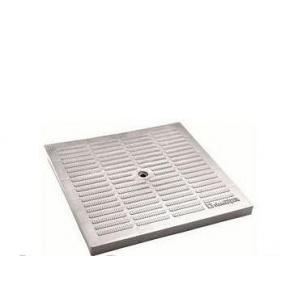 Крышка к дождеприемнику PolyMax Basic 28.28 пластиковая серая
