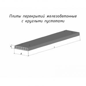 Плита перекрытия ПК 74-12-8