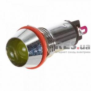 Светосигнальная арматура AD22-C12 желтая 24В АскоУкрем