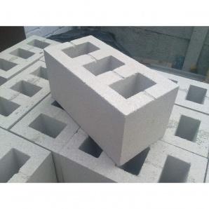 Шлакоблок вибропрессованный ALEX Group 100х200х400 мм серый