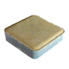 """Тротуарная плитка """"Гармония"""" Стандарт УМБР синий на белом цементе, 40 мм"""