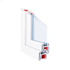 Металлопластиковое окно KBE 70 ST