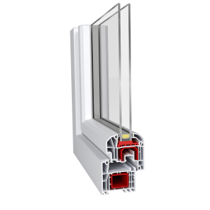 Метаттлопластиковое окно Aluplast IDEAL 4000