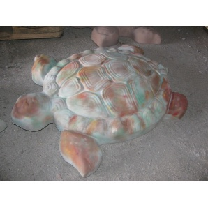 Садовый декор Черепаха 3D 400х340х65 мм пятнистый