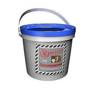 Гидроизоляционная смесь Мегатрон Проникающий 5 кг