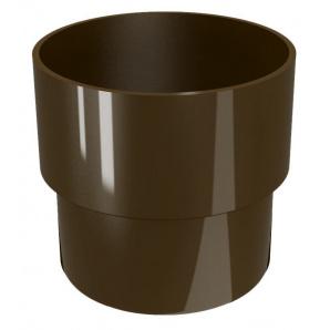 З'єднувач труби DEVOREX CLASSIC d.80 коричневий