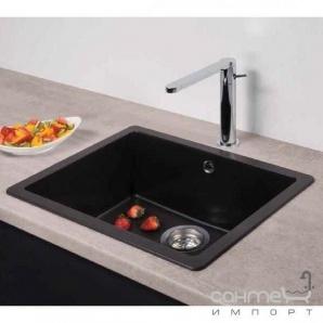 Гранітна кухонна мийка Schock Cristadur Mono N100 97 magma glossy