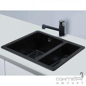 Гранітна кухонна мийка Schock Cristalite Quadro N150 08 colorado