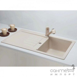 Гранітна кухонна мийка Schock Cristalite Typos D100 оборотна 08 colorado
