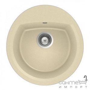 Гранітна кухонна мийка Schock Cristalite Manhattan R100 оборотна 13 nero