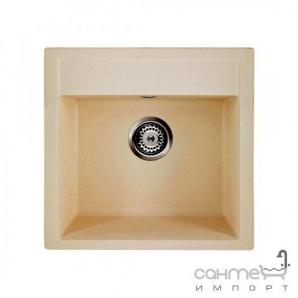 Гранітна кухонна мийка Granado Merida black shine