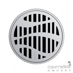 Кругла решітка душового трапа з нержавіючої сталі без замка ACO ShowerPoint Квадрат 5141.25.22