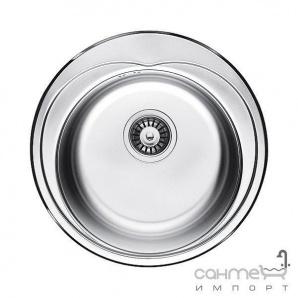 Кухонна мийка Fabiano Ф-48 Нержавіюча Сталь/Сатин