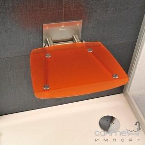 Сидіння для ванної кімнати Ravak Ovo B orange B8F0000017