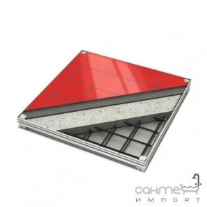 Люк алюмінієвий ACO 800х800х72,5мм, А15