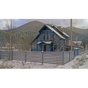 Будівництво будинку для відпочинку з клеєного євробрусу 120 м2