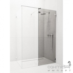 Фронтальна частина душової кабіни Radaway Euphoria Walk-in III W3 140 383136-01-01 (хром/прозорий)