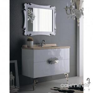 Комплект меблів для ванної кімнати ADMC DF-06 WG (білий глянець)