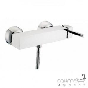 Настінний змішувач для душа, з душовим комплектом Clever Platinum Saona Infinity 96358 Хром