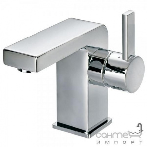 Змішувач для раковини з донним клапаном латунь pop-up Clever Platinum Bimini 97131 Хром