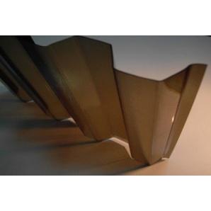 Монолітний профільований полікарбонат BORREX трапеція бронза 1,05х6 м