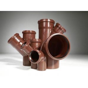 Трійник 45 градусів каналізаційної труби PipeLife MASTER-3 110 мм