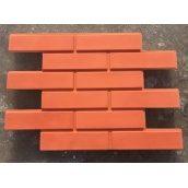 Фасадная плитка Rocky Фагот 20х450х650 мм красная