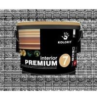 Краска интерьерная Kolorit Interior Premium 7 А 9 л матовая