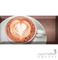 Плитка керамічна декор Absolut Keramika Coffe Capuccino Decor Marron A 10х20