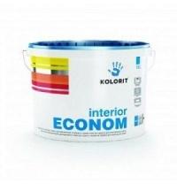 Водоэмульсионная краска Колорит Эконом 9 л