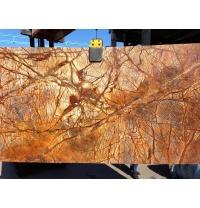Мармур Bidasar Brown Antic коричневий з темно-коричневими прожилками