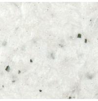 Жидкие обои Qстандарт Гортензия 201 белый шелк белый с зелеными хлопьями 1 кг