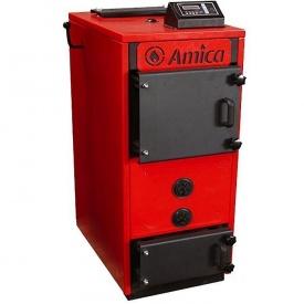 Пиролизный котел Amica Pyro М 22 кВт с дымососом