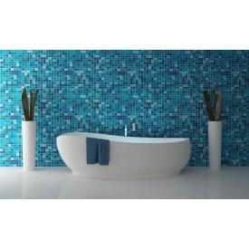 Укладання мозаїки у ванній кімнаті