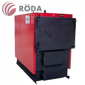 Промисловий сталевий твердопаливний котел Emtas Roda RK3G 140 кВт