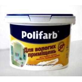 Краска Polifarb БИОФАРБА 4,2 кг белая