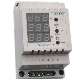 Трехфазное реле напряжения Adecs ADC-0133