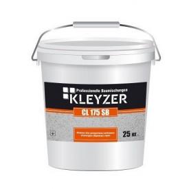 Финишная декоративная силиконовая штукатурка барашек KLEYZER СL 175 SB белая