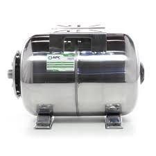 Гідроакумулятор нержавіюча сталь горизонтальний APC 24л