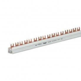Шина соединительная вилочная HAGER 2p 57 модулей 10 мм2 с изоляцией (KDN263B)