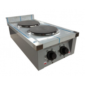 Плита електрична кухонна Ефес ЕПК-2 настільна 3 кВт 400х700х185 мм
