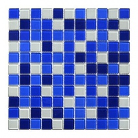 Мозаїка, скляна, Aquaviva Сristall Bagama Dark DCM303