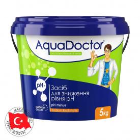Быстрорастворимый препарат AquaDoctor pH Minus 5 кг