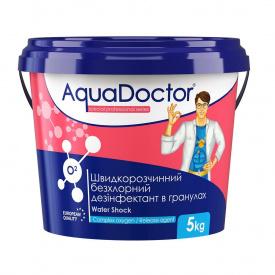 Активный кислород Aquadoctor O2 дезинфекант без хлора 5 кг