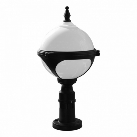 Светильник уличный Brille низкий GL-04 B BLACK ІР33